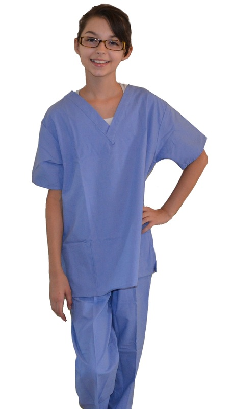 Ceil Blue Kids Scrubs Kids Scrubs And Childrens Lab Coats