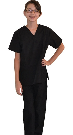 Black Kids Scrubs