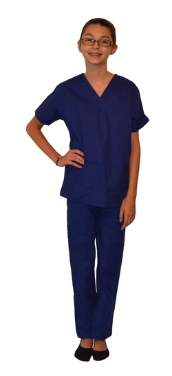 Clearance Royal Blue Kids Scrubs