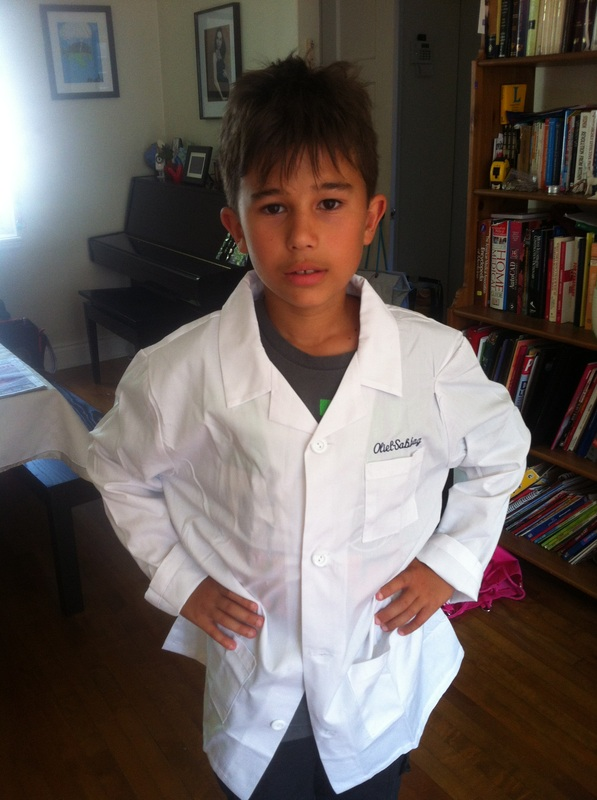 Kids Science Lab Coat - Kids Scrubs and Childrens Lab Coats