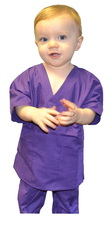 Purple Toddler Scrubs