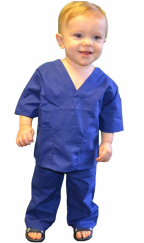 Royal Blue Toddler Scrubs
