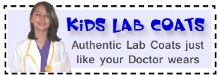 Kids School Lab Coats