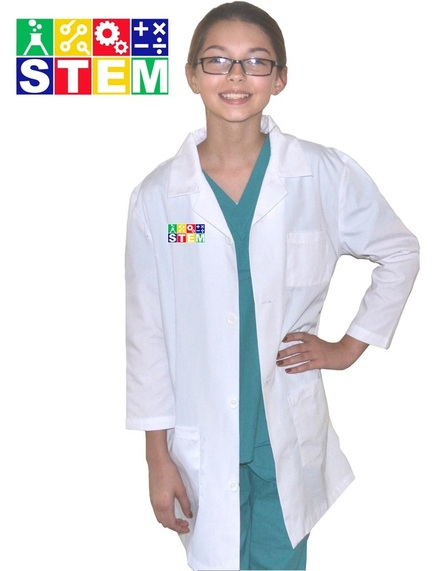 Kids STEM Lab Coat