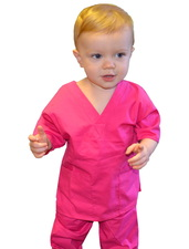 Pink Toddler Scrubs