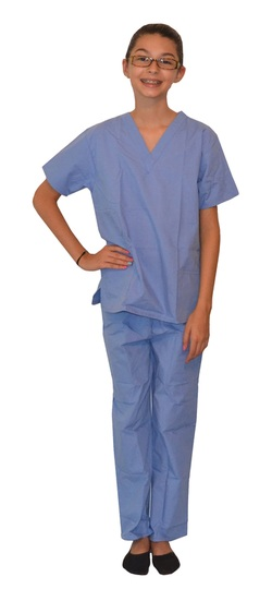 Clearance Ceil Blue Kids Scrubs