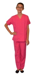 Pink Kids Scrubs
