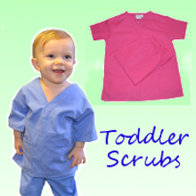 Toddler Scrubs