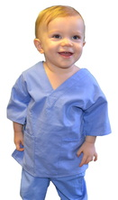 Ceil Blue Toddler Scrubs