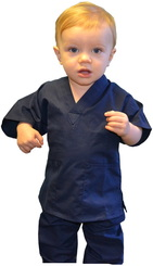 Black Toddler Scrubs