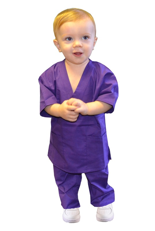 c3d4aec68b1 Purple Toddler Scrubs - Kids Scrubs and Childrens Lab Coats