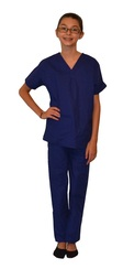 Royal Blue Kids Scrubs