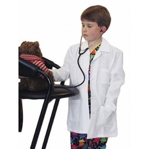 Landau Lab Coat for Kids